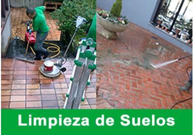 Limpieza de patios y terrazas